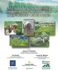 Noxious weed grazing guidelines